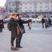 Мы с товарищем вдвоем, репортаж один ведем. :: Александр Горячев