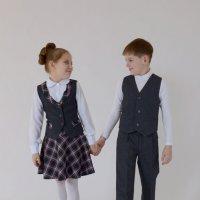 Юные модели. :: Андрей + Ирина Степановы