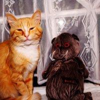 Необычные друзья. :: Vladimir Semenchukov