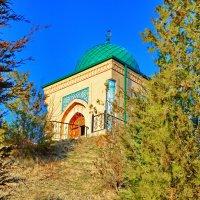 Мечеть в предгорьях Памира...Узбекистан :: Юрий Владимирович