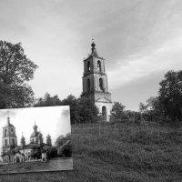 Аргуновско Никольский храм. До и после. :: Денис Бочкарёв