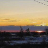 Последний зимний закат :: Наталья Ильина