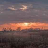 На закате уходящей зимы :: Людмила Зайцева