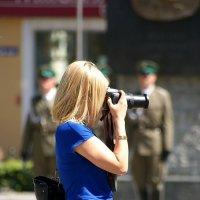 Фотограф в синем :: donat