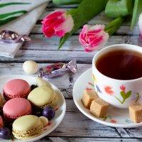 Чай со сладостями :: Александр Синдерёв