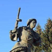 Великие Луки. Памятник на захоронении Александра Матросова... :: Владимир Павлов