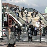Venezia. Piazzale Roma.  Ponte della Costituzione. :: Игорь Олегович Кравченко