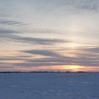 Закат близится к горизонту. :: сергей