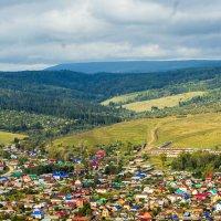 Сим, городок в Челябинской области :: Елена Толкмит