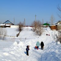 Дорога в деревню :: Татьяна Лютаева