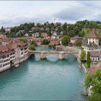 Швейцария, Берн. У тихой реки. :: Валерий Готлиб