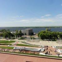 Вид на Волгу со смотровой площадки :: марина ковшова