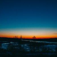 Весенний закат :: Сергей Осин
