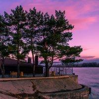 Яркие краски весенних закатов :: Сергей Осин