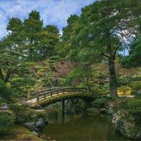 Горбатый мостик в саду императора.Киото :: Shapiro Svetlana