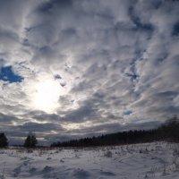 Закат играет с облаками :: Денис Бочкарёв