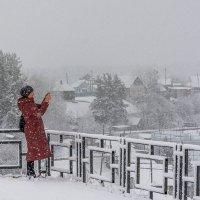 Снегопад. :: Сергей l