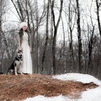 Дама с псом :: Ирина Солощ