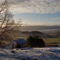 С горы в морозное утро :: Елена Байдакова