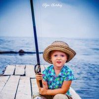 На рыбалке :: Ольга Черкес