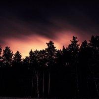 Ночное небо над Екатеринбургом :: Марина Денисова
