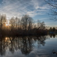 Река в свете заката :: Алексей Клименко