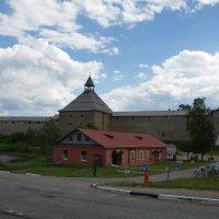 Крепость Старая Ладога :: Валентина Папилова