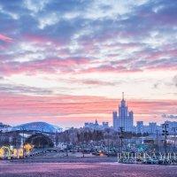 Розовый рассвет :: Юлия Батурина