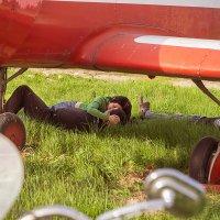 Под крылом самолета :: Оксана Лада