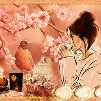 ·٠•●๑۩ Утро в японском саду. ۩๑●•٠·˙ :: IRIHA Ageychik
