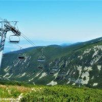 Болгария Горы Рила Лифт Маркуджик-2 высота 2486м :: Swetlana V