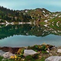 озеро в горах :: Elena Wymann