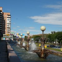 Городской пейзаж :: юрий Амосов