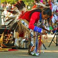 танец индейца :: Александра Мустафина