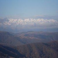 горный хребет :: валентин яблонский