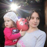 Мама и дочка!!! :: Мария Дулепова
