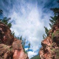 Красные ворота, Ак-Таш, Алтай, Россия :: Дмитрий Филиппов