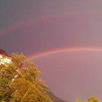 Две радуги :: Анжелика Зверькова