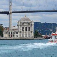 Сентябрь Босфора... Великий Мост... Восток движется на Запад... :: Леонид Нестерюк