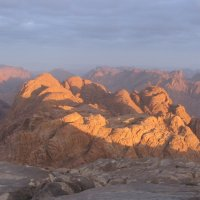 Рассвет на горе Моисея. :: Ирина Михайловна