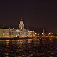 Васильевский остров у Дворцового моста :: Валентин Яруллин