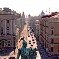 Памятник Николаю I на Исаакиевской площади......... :: ВЛАДИМИР