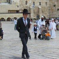 В Иерусалиме Новый год :: галина северинова