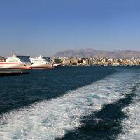 порт  ираклиона :: юрий макаров