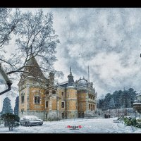 Заснеженный дворец #2 :: Сергей Радин