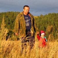 Внучка с дедом :: Виктор Овсянников