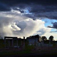 Небо над разобранном здании :: Евгений Александров