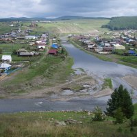 Башкирия. Поселок Кага :: Сергей Комков