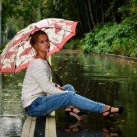Под осенним дождем :: Анастасия Светлова