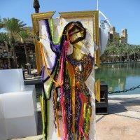 Прекрасная бедуинка спицами и крючком :: Ирина Сивовол